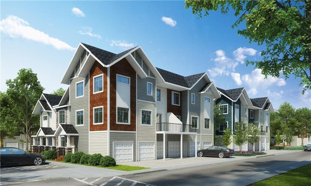 Main Photo: 537 Canals Crossing SW: Airdrie Row/Townhouse for sale : MLS®# A1028501