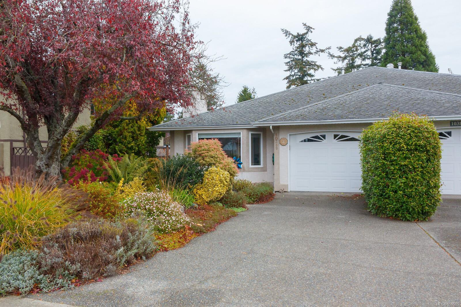 Main Photo: 10389 Resthaven Dr in : Si Sidney North-East Half Duplex for sale (Sidney)  : MLS®# 859000