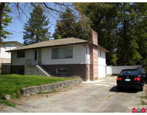 """Main Photo: 10550 138A Street in Surrey: Whalley House for sale in """"East Whalley"""" (North Surrey)  : MLS®# F2711095"""