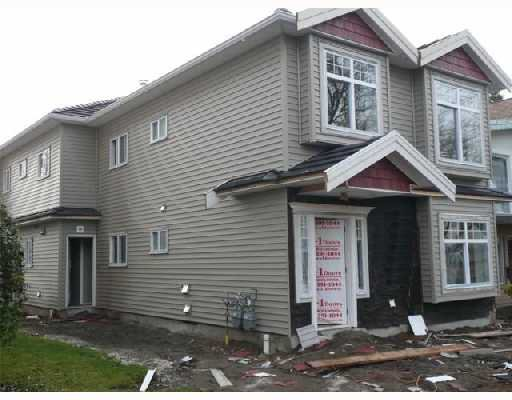 Main Photo: 452 E 44TH Avenue in Vancouver: Fraser VE 1/2 Duplex for sale (Vancouver East)  : MLS®# V681165