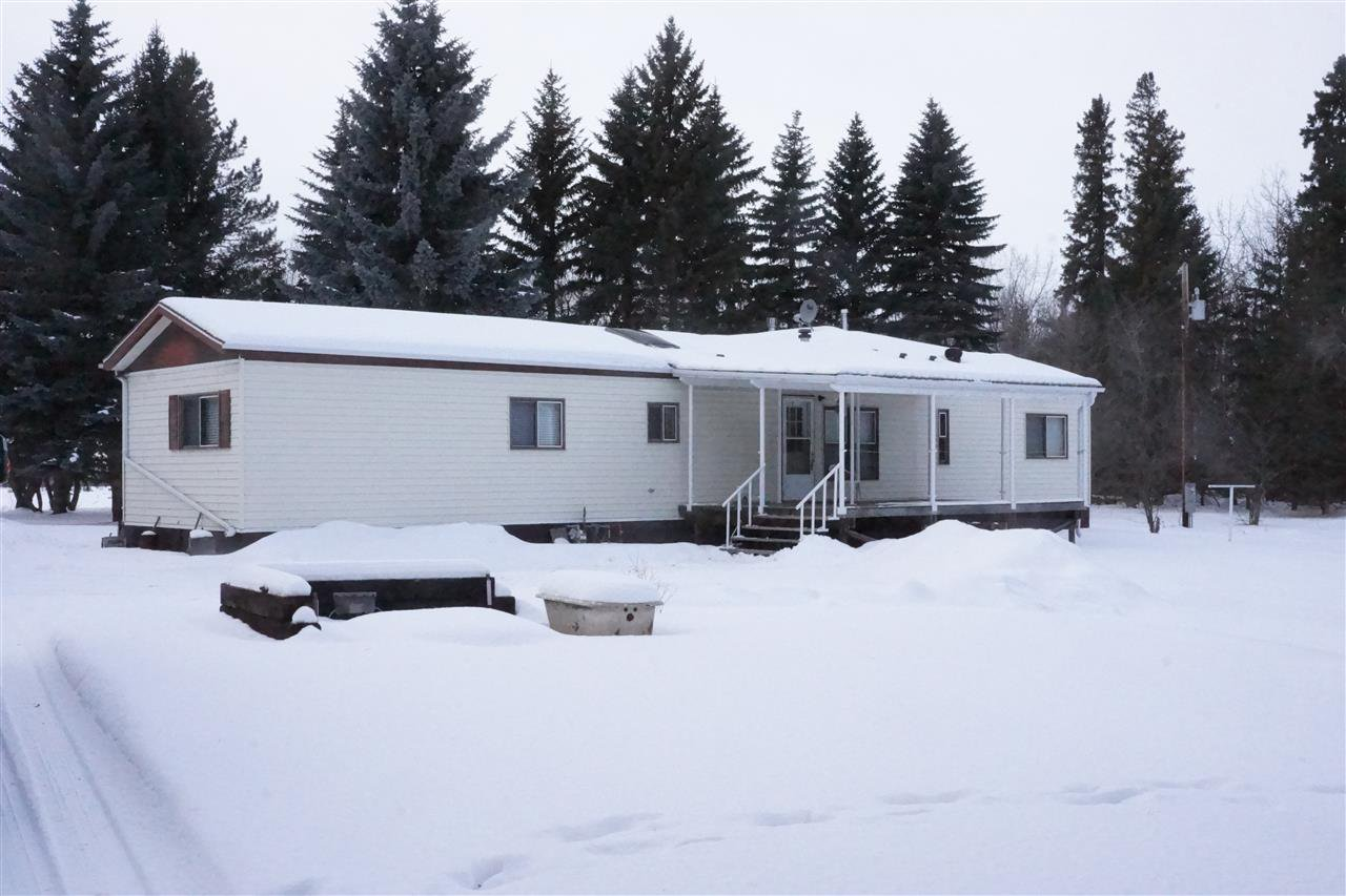 Main Photo: 54447 RGE RD 205: Rural Strathcona County Manufactured Home for sale : MLS®# E4186196