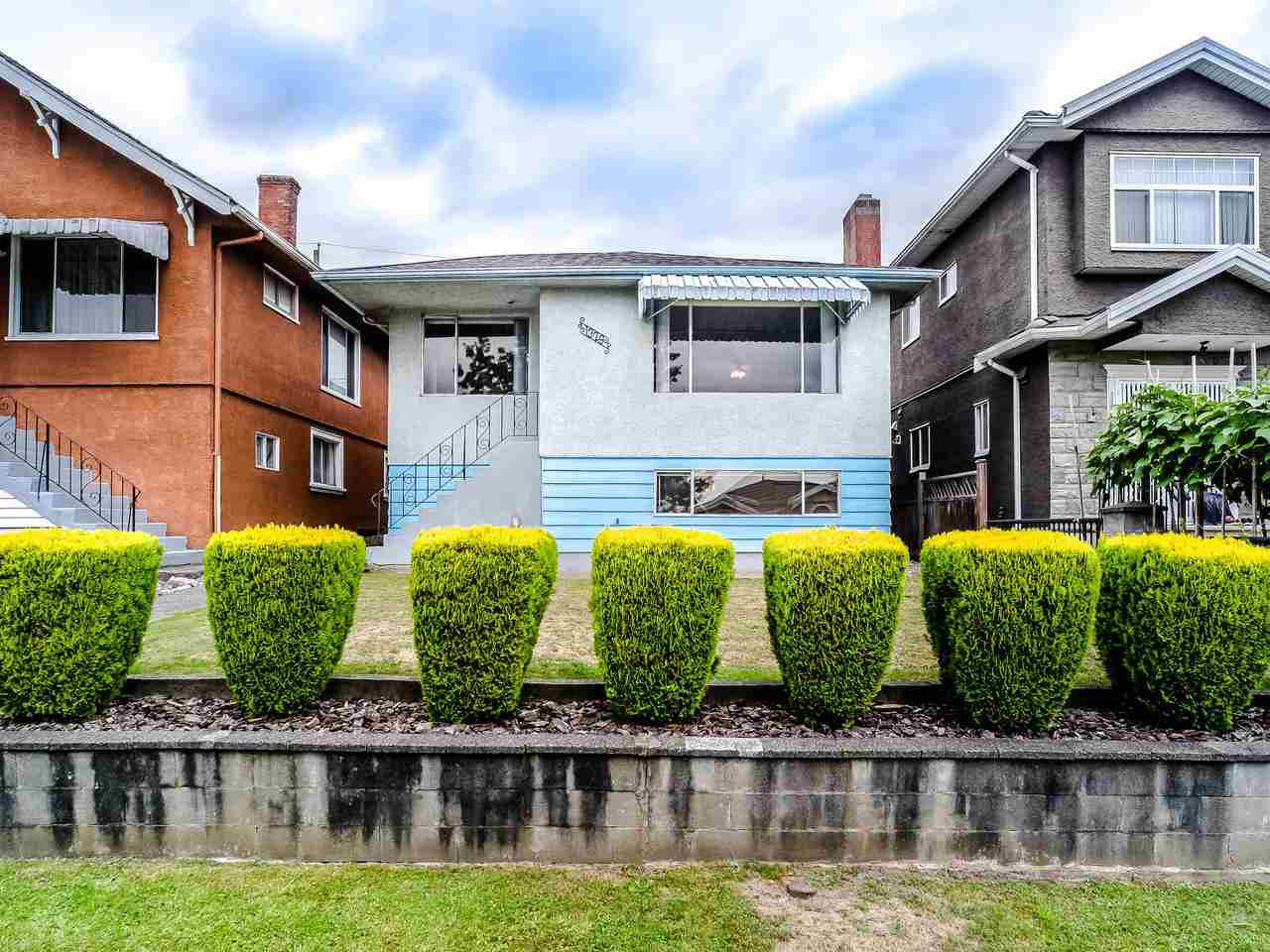 Main Photo: 1329 E 62ND Avenue in Vancouver: South Vancouver House for sale (Vancouver East)  : MLS®# R2494112