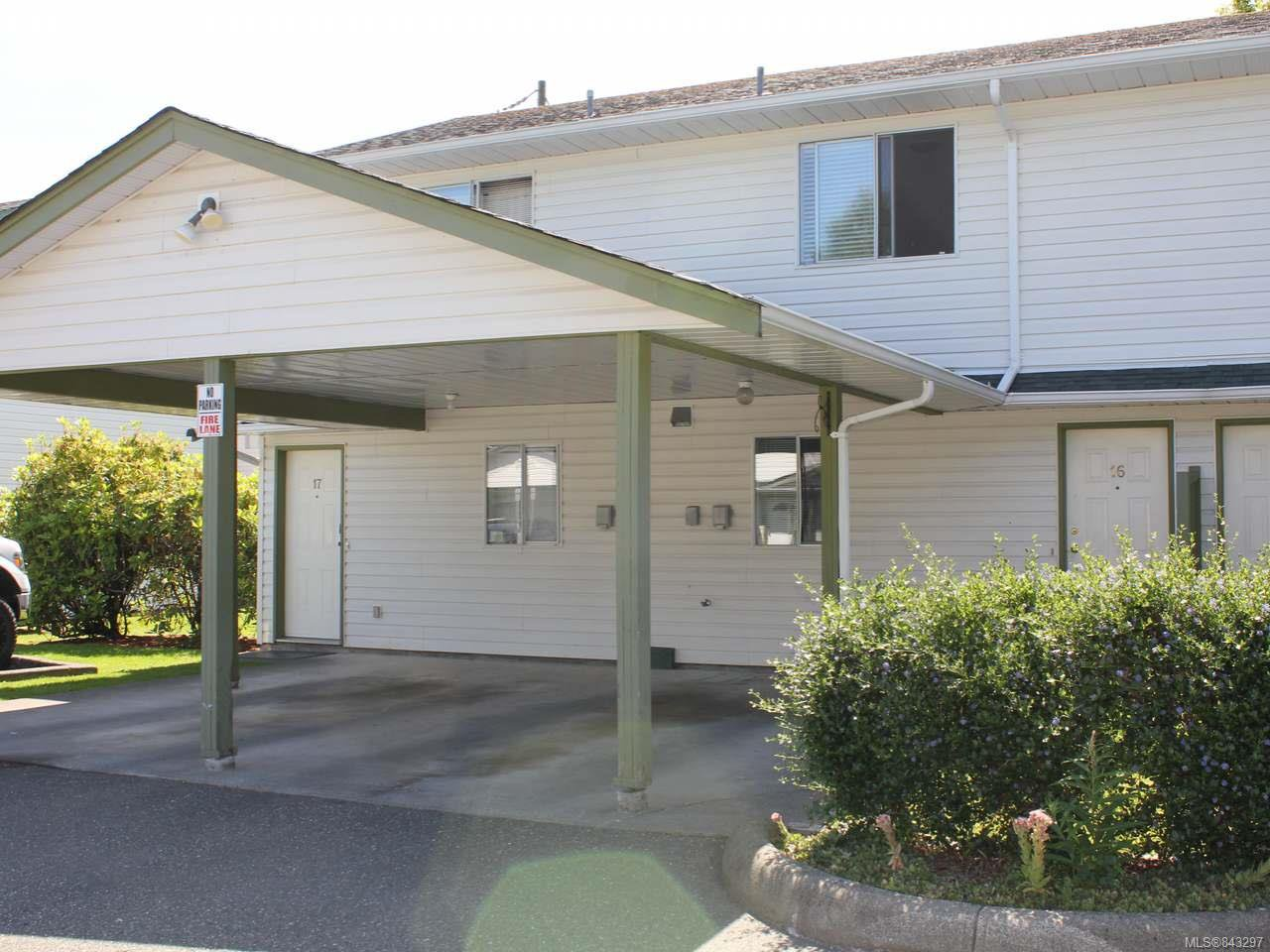 Main Photo: 16 1095 EDGETT ROAD in COURTENAY: CV Courtenay City Row/Townhouse for sale (Comox Valley)  : MLS®# 843297