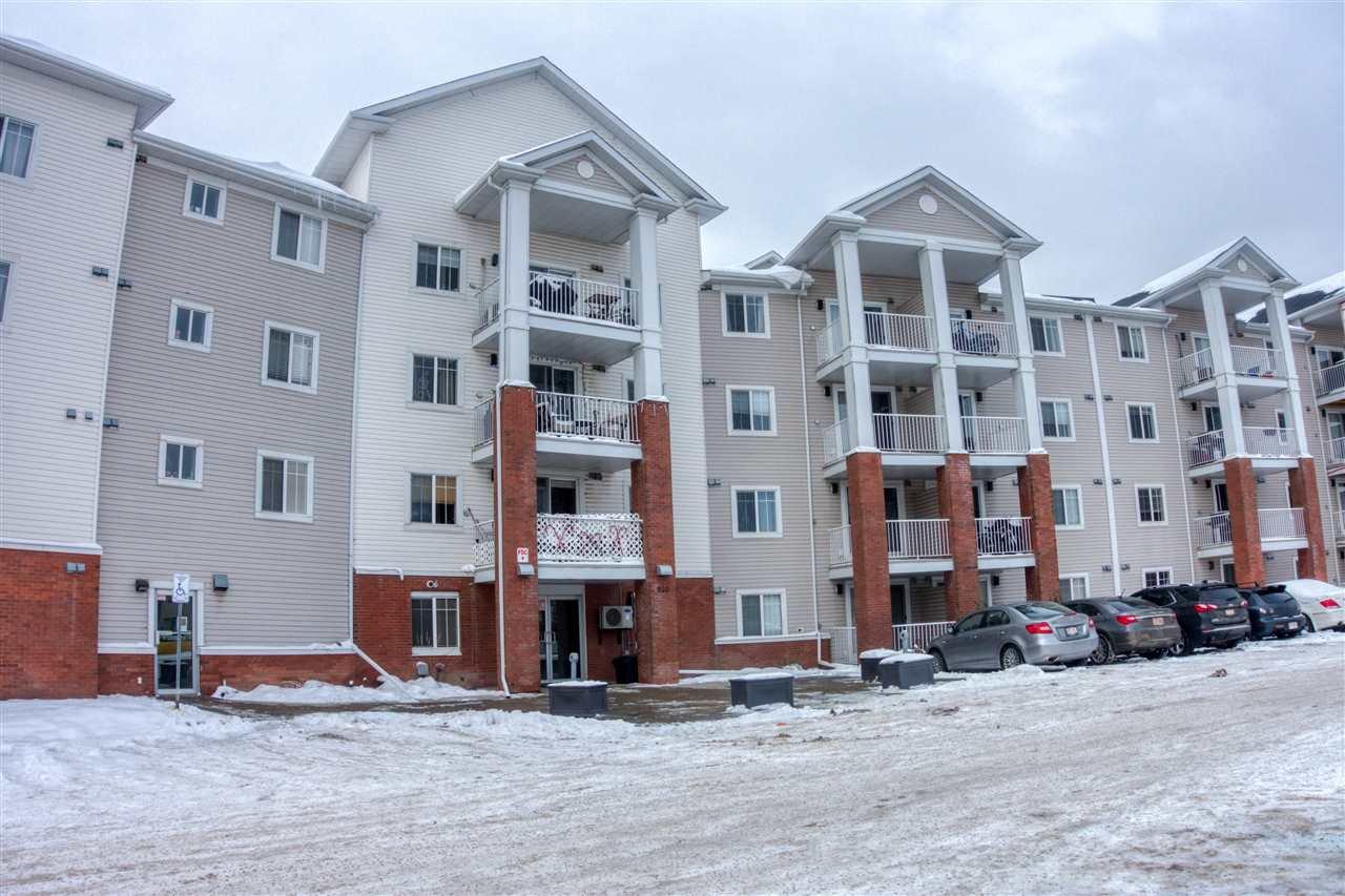 Main Photo: 317 920 156 Street NW in Edmonton: Zone 14 Condo for sale : MLS®# E4221089