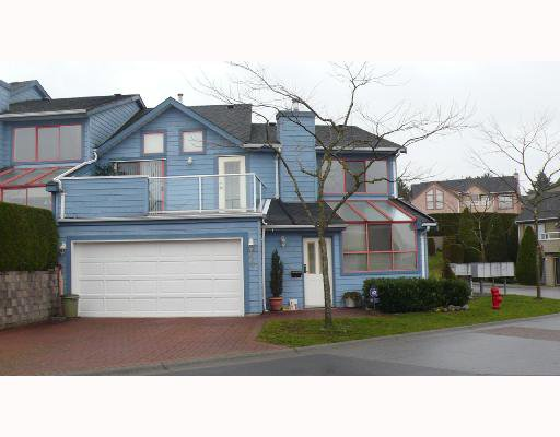 """Main Photo: 10 323 GOVERNORS Court in New_Westminster: Fraserview NW Townhouse for sale in """"FRASERVIEW"""" (New Westminster)  : MLS®# V679747"""