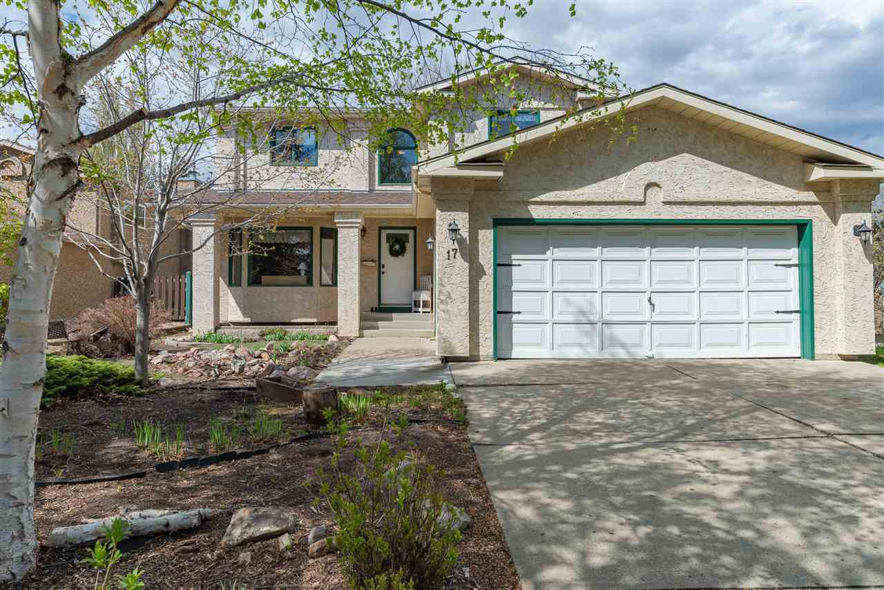 Main Photo: 17 AINSLEY Place: St. Albert House for sale : MLS®# E4198167
