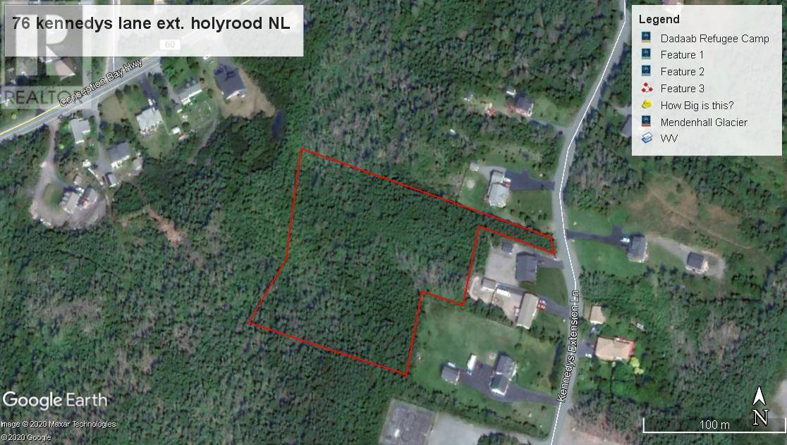 Main Photo: 76 Kennedys Lane Extension in Holyrood: Vacant Land for sale : MLS®# 1212546