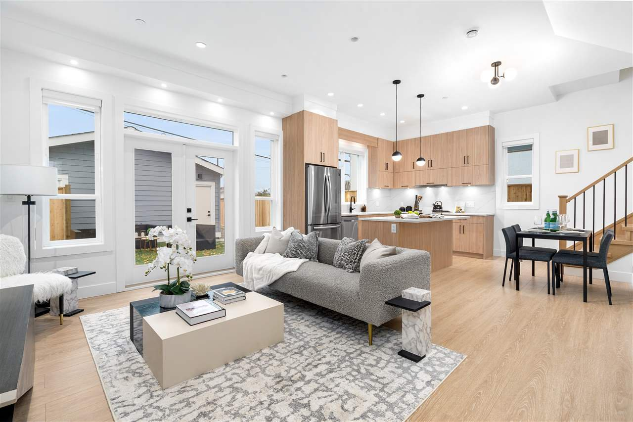 Main Photo: 3093 E 1ST Avenue in Vancouver: Renfrew VE 1/2 Duplex for sale (Vancouver East)  : MLS®# R2518507