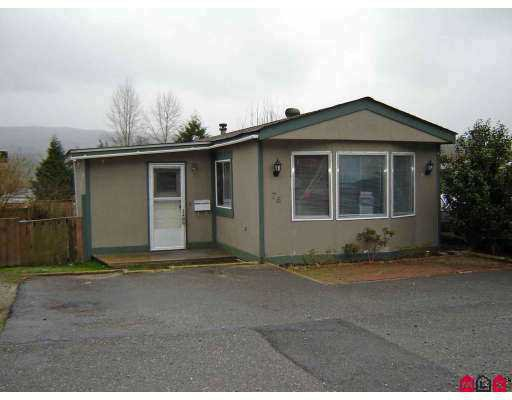 """Main Photo: 10221 WILSON Road in Mission: Stave Falls Manufactured Home for sale in """"Triple Creek Estates"""" : MLS®# F2706005"""