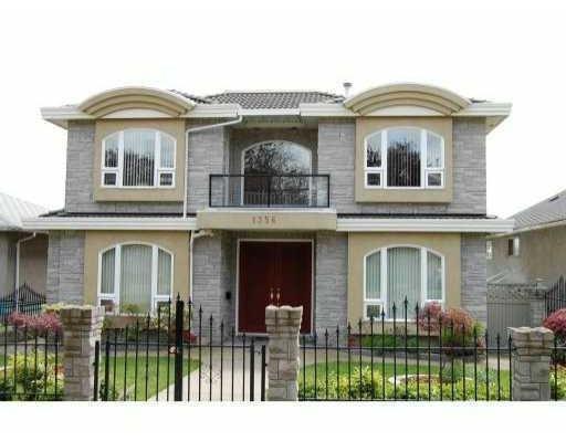 Main Photo: 1356 E 62ND AV in Vancouver: House for sale : MLS®# V835050