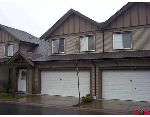 """Main Photo: 46 15868 85TH Avenue in Surrey: Fleetwood Tynehead Townhouse for sale in """"CHESTNUT GROVE"""" : MLS®# F2803206"""