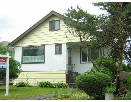 Main Photo: 1084 E 56TH Avenue in Vancouver: South Vancouver House for sale (Vancouver East)  : MLS®# V650822