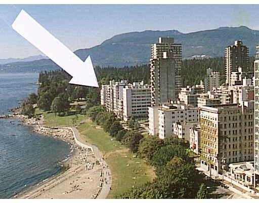 """Main Photo: 701 2095 BEACH AV in Vancouver: West End VW Condo for sale in """"BEACH PARK APARTMENTS"""" (Vancouver West)  : MLS®# V598307"""