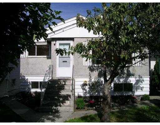 Main Photo: 2749 E 23RD AV in Vancouver: Renfrew Heights House for sale (Vancouver East)  : MLS®# V557802
