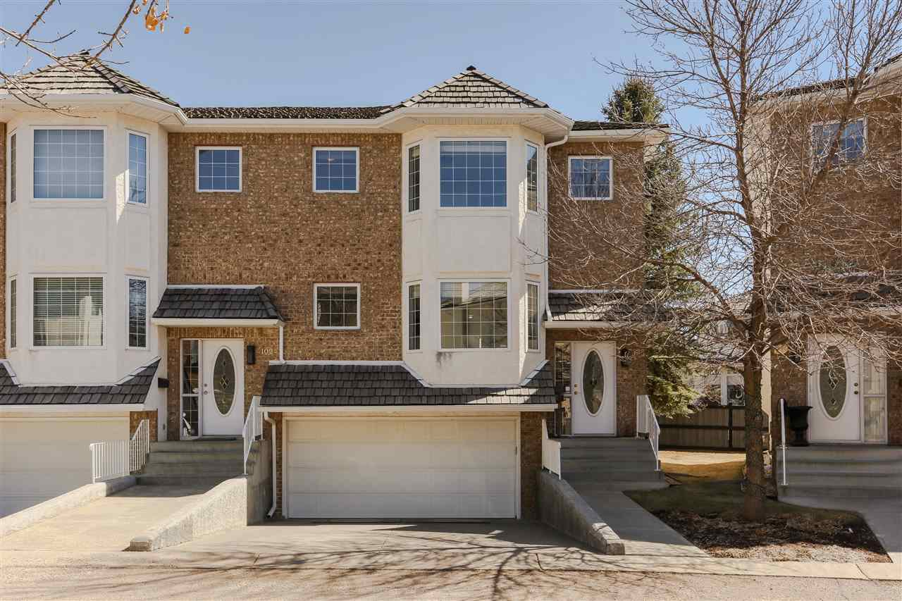 Main Photo: 103 EAGLE RIDGE Place in Edmonton: Zone 14 Townhouse for sale : MLS®# E4221146