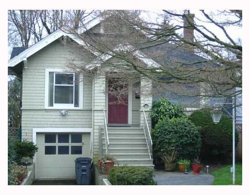 Main Photo: 2878 W 41ST Avenue in Vancouver: Kerrisdale House for sale (Vancouver West)  : MLS®# V695377