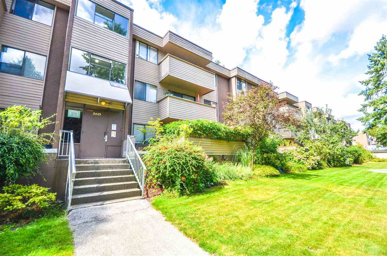 Ground floor unit; easy access to main entrance & parking