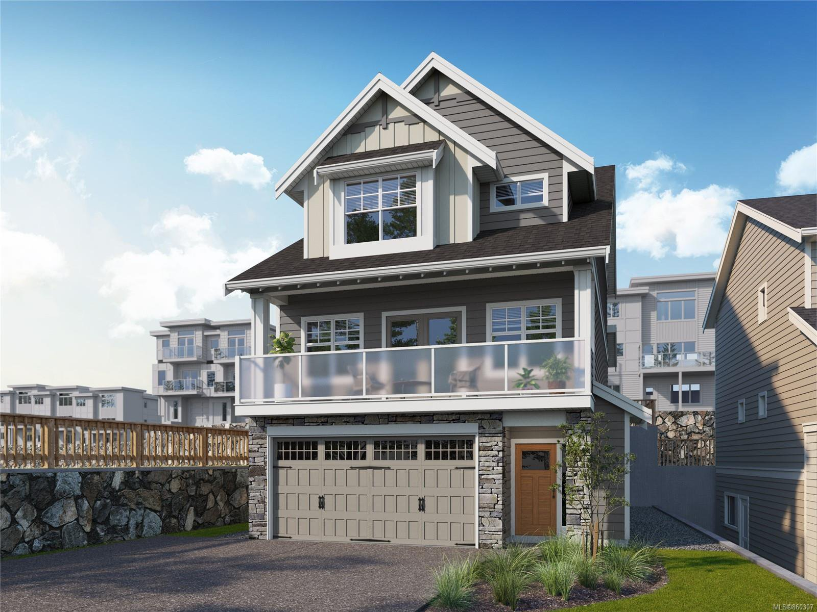 Main Photo: 1332 Flint Ave in : La Bear Mountain House for sale (Langford)  : MLS®# 860307