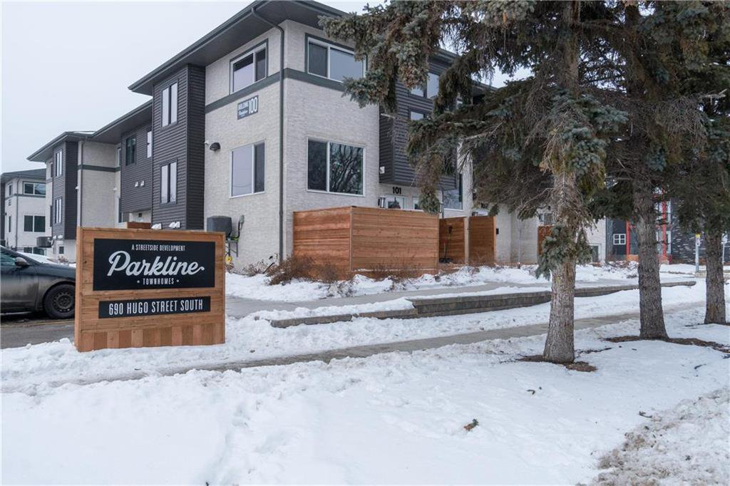 Main Photo: 410 690 Hugo Street South in Winnipeg: Lord Roberts Condominium for sale (1Aw)  : MLS®# 202100746