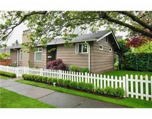 Main Photo: 6105 LARCH ST in Vancouver: House for sale : MLS®# V833708
