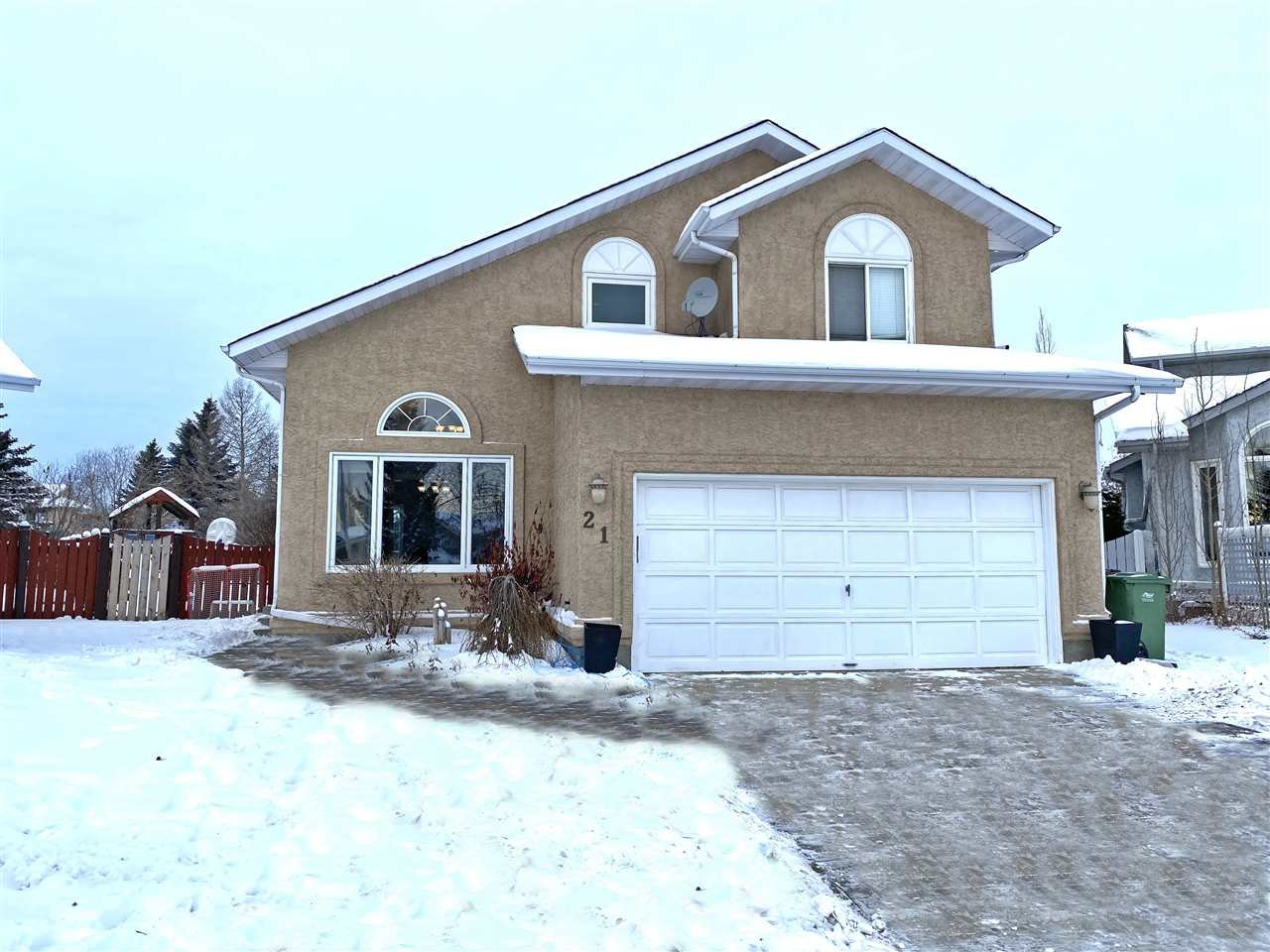 Main Photo: 21 DONAHUE CL: St. Albert House for sale : MLS®# E4184694