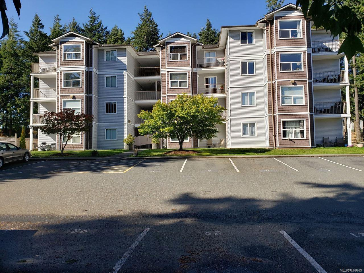 Main Photo: 404 282 BIRCH STREET in CAMPBELL RIVER: CR Campbell River Central Condo for sale (Campbell River)  : MLS®# 834849