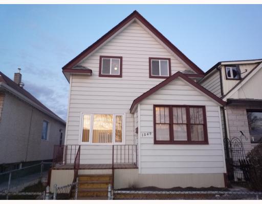 Main Photo: 1249 ALEXANDER Avenue in WINNIPEG: Brooklands / Weston Residential for sale (West Winnipeg)  : MLS®# 2920465