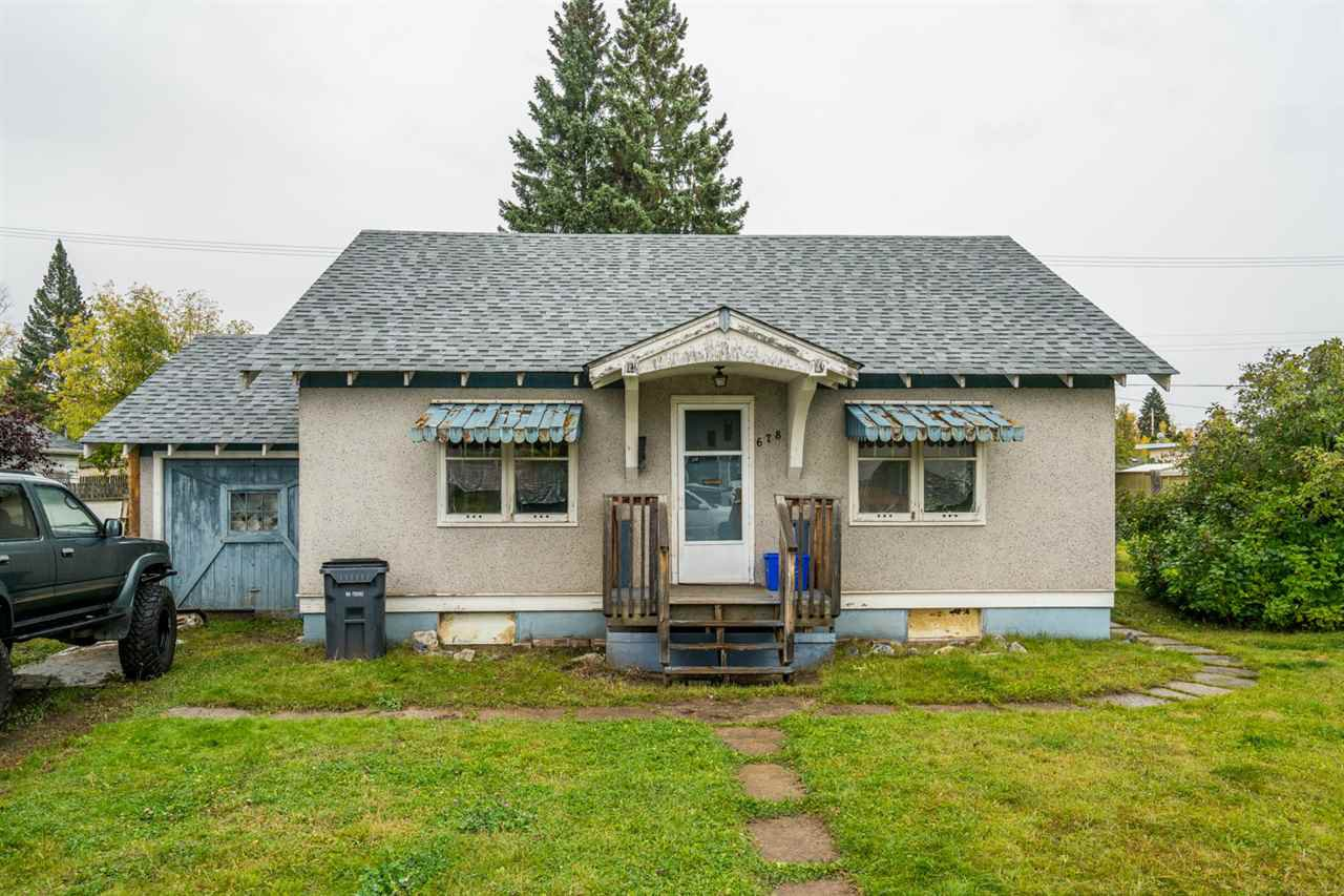 Main Photo: 678 BURDEN Street in Prince George: Central House for sale (PG City Central (Zone 72))  : MLS®# R2408369