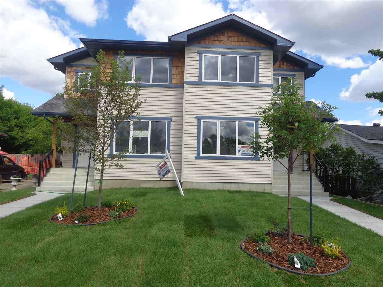 Main Photo: 9713 161 Street in Edmonton: Zone 22 House Half Duplex for sale : MLS®# E4204660