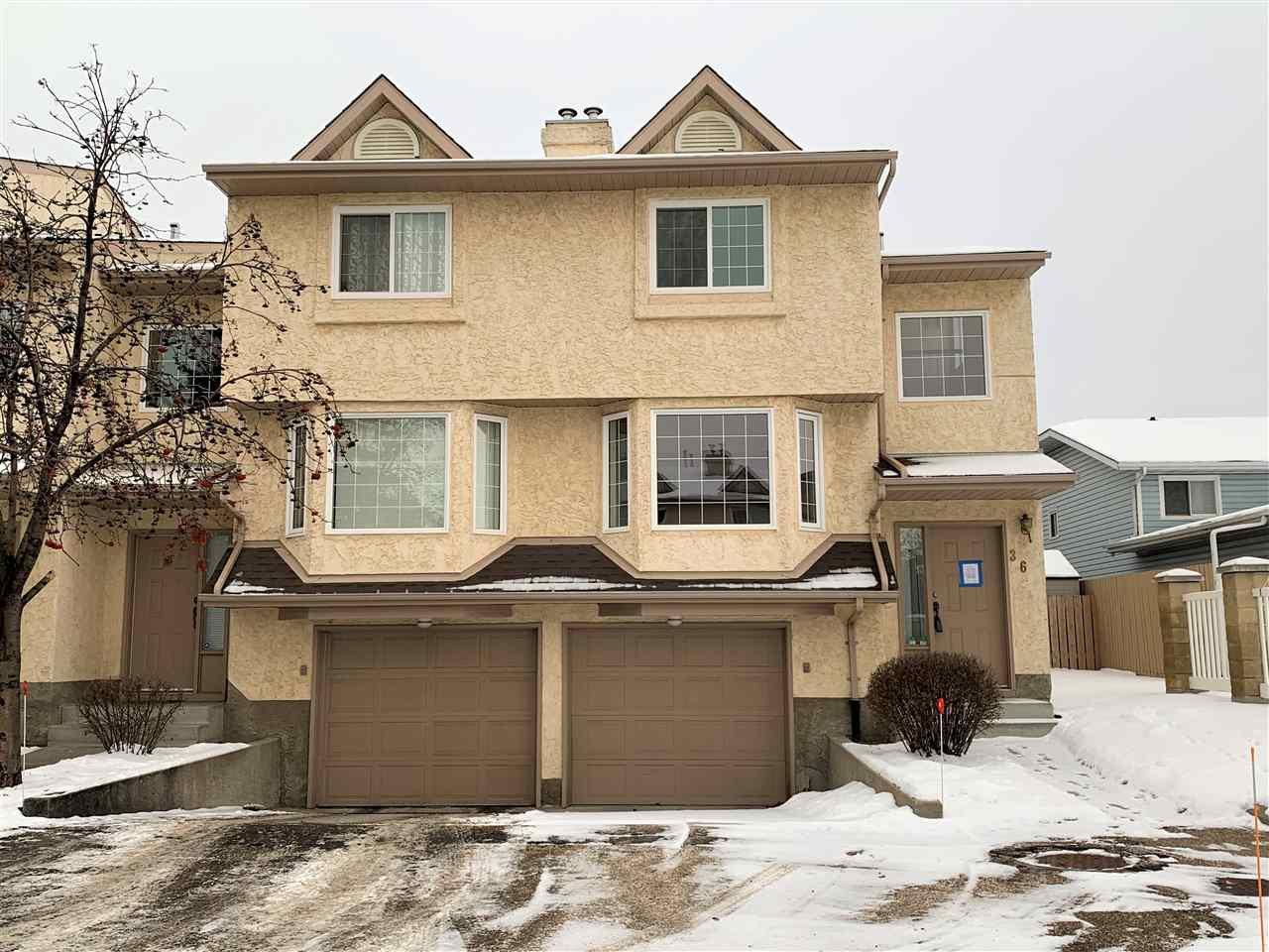 Main Photo: 36 3645 145 Avenue in Edmonton: Zone 35 Townhouse for sale : MLS®# E4184240