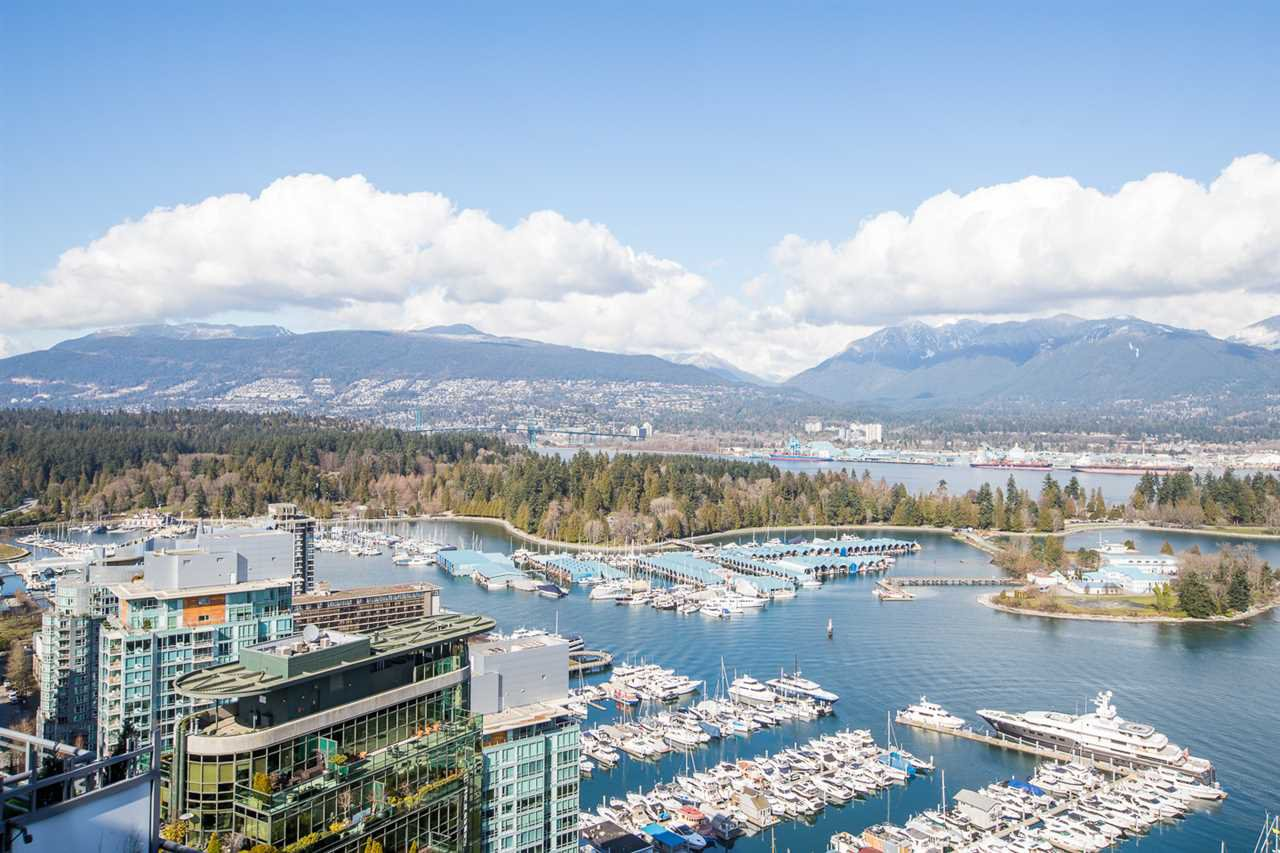 Main Photo: 3802 1328 W PENDER Street in Vancouver: Coal Harbour Condo for sale (Vancouver West)  : MLS®# R2482481