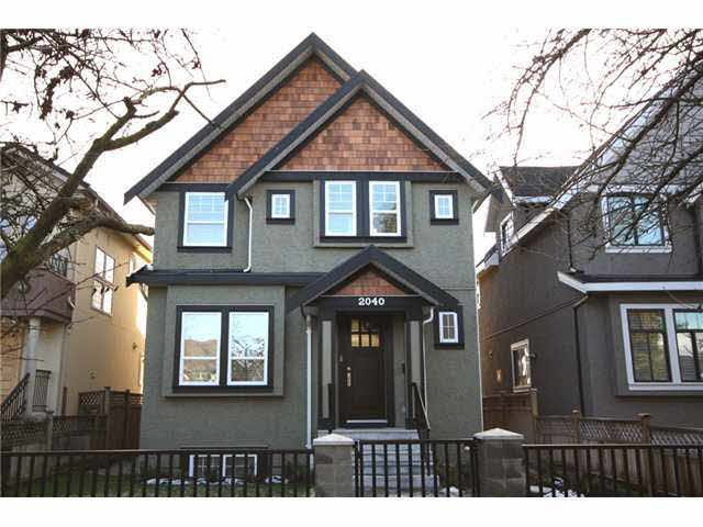 Main Photo: 2040 W 47TH AVENUE in : Kerrisdale House for sale : MLS®# V926247