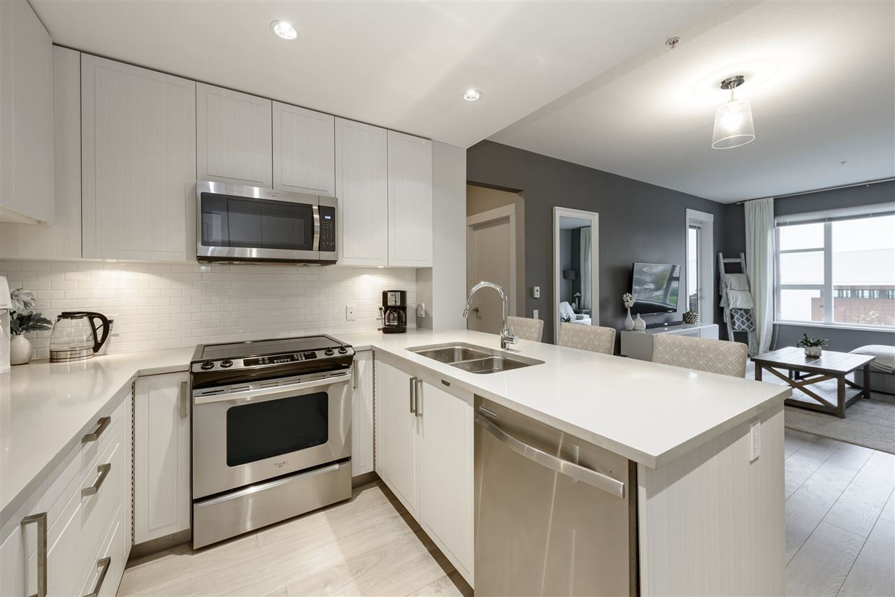 """Main Photo: 313 550 SEABORNE Place in Port Coquitlam: Riverwood Condo for sale in """"Fremont Green"""" : MLS®# R2512045"""