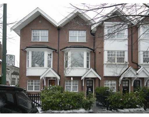 "Main Photo: 832 W 15TH Ave in Vancouver: Fairview VW Townhouse for sale in ""REDBRICKS"" (Vancouver West)  : MLS®# V626740"
