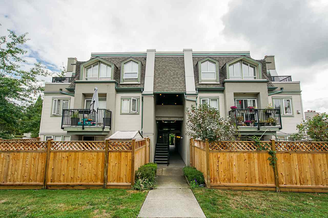 "Main Photo: 126 217 BEGIN Street in Coquitlam: Maillardville Townhouse for sale in ""PLACE FONTAINEBLEAU"" : MLS®# R2404944"