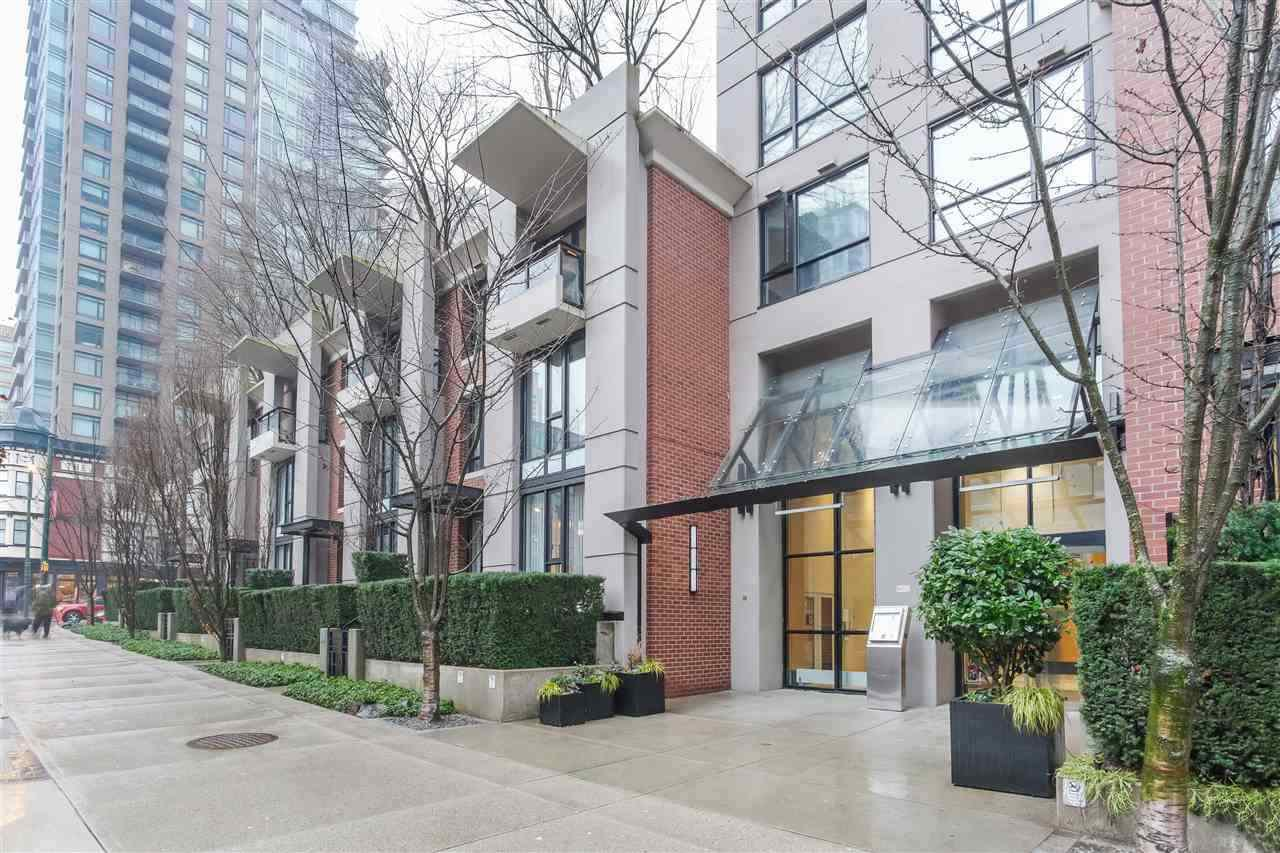 """Main Photo: 609 928 HOMER Street in Vancouver: Yaletown Condo for sale in """"YALETOWN PARK!"""" (Vancouver West)  : MLS®# R2449306"""