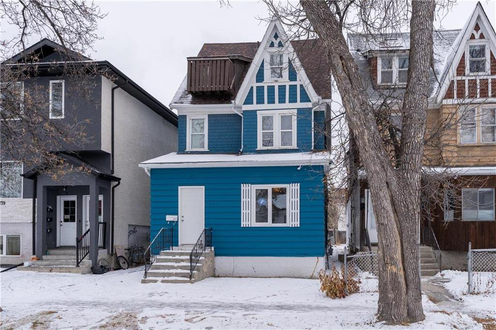 Main Photo: 277 Toronto Street in Winnipeg: West End Residential for sale (5A)  : MLS®# 202027196