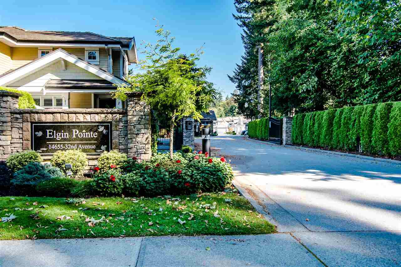"Main Photo: 53 14655 32 Avenue in Surrey: Elgin Chantrell Townhouse for sale in ""Elgin Pointe"" (South Surrey White Rock)  : MLS®# R2516676"