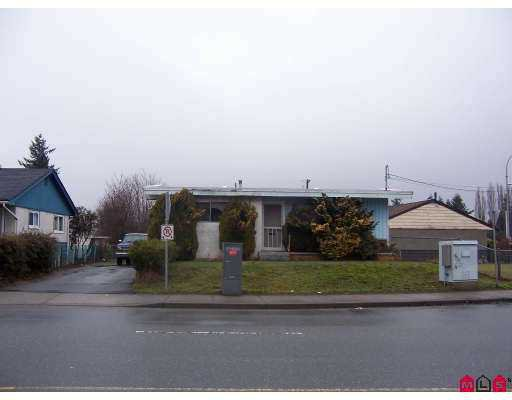Main Photo: 31989 PEARDONVILLE Road in Abbotsford: Abbotsford West House for sale : MLS®# F2701880
