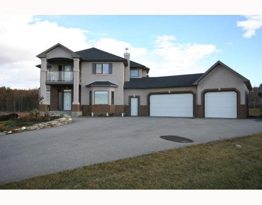 Main Photo: 31185 Woodland Way NW in CALGARY: Rural Rocky View MD Residential Detached Single Family for sale : MLS®# C3399889