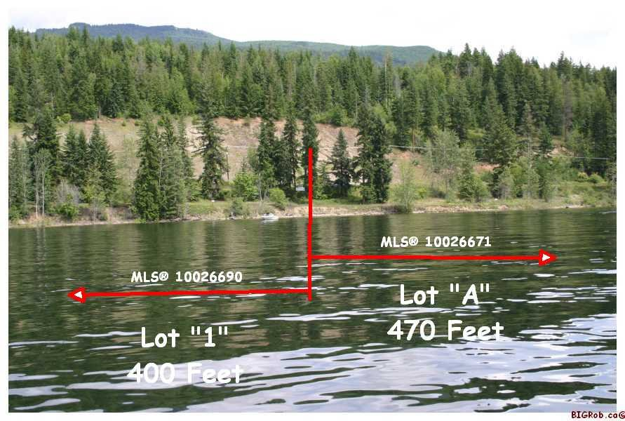 Main Photo: Lot 1 or Lot A Squilax-Anglemont Rd in Magna Bay: Waterfront Land Only for sale (Shuswap Lake)  : MLS®# 10026690 or 10026671