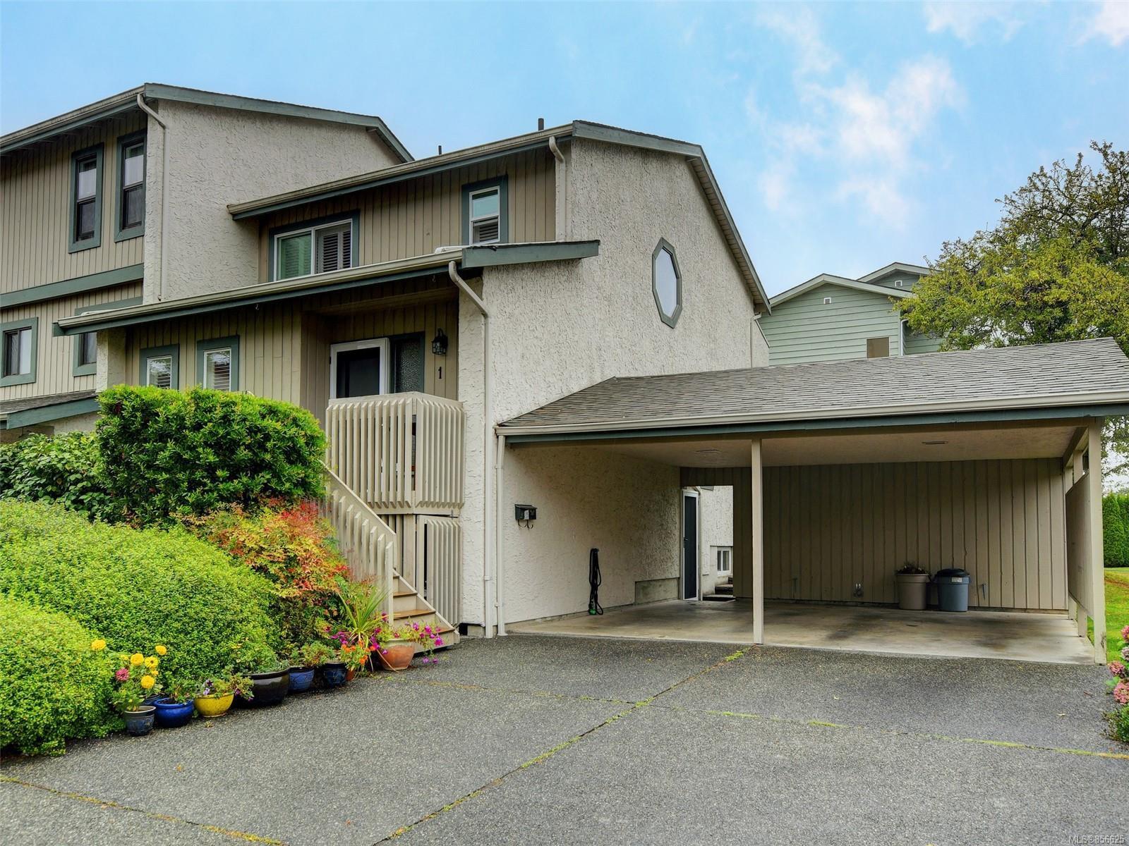 Main Photo: 1 1480 GARNET Rd in : SE Cedar Hill Row/Townhouse for sale (Saanich East)  : MLS®# 856625