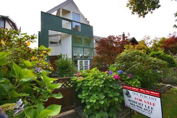 Main Photo: 2246 W 13TH Avenue in Vancouver: Kitsilano House 1/2 Duplex for sale (Vancouver West)  : MLS®# V677455