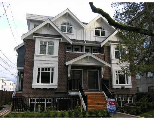Photo 2: Photos: 2856 SPRUCE Street in Vancouver: Fairview VW Townhouse for sale (Vancouver West)  : MLS®# V680140
