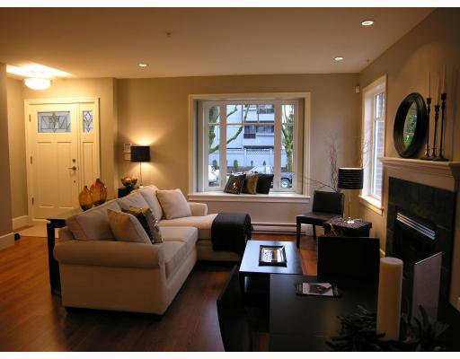 Photo 1: Photos: 2856 SPRUCE Street in Vancouver: Fairview VW Townhouse for sale (Vancouver West)  : MLS®# V680140