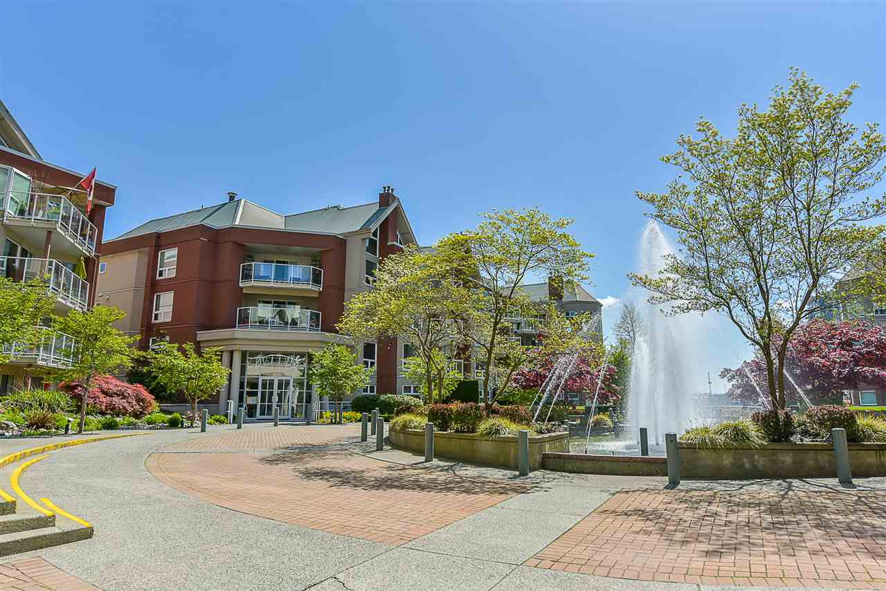 "Main Photo: 201A 1220 QUAYSIDE Drive in New Westminster: Quay Condo for sale in ""Tiffany Shores"" : MLS®# R2451407"