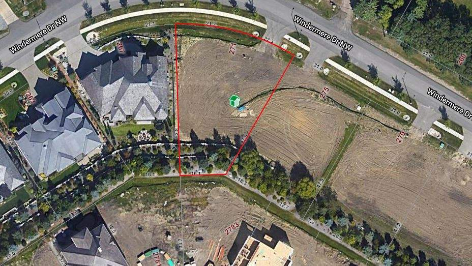 Main Photo: 271 WINDERMERE Drive in Edmonton: Zone 56 Vacant Lot for sale : MLS®# E4213025