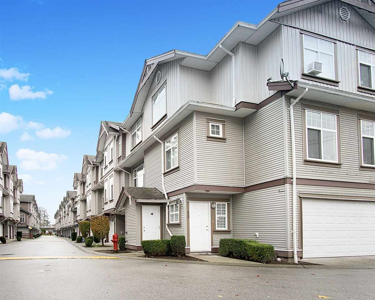 "Main Photo: 37 12585 72 Avenue in Surrey: West Newton Townhouse for sale in ""Kwantlen Village"" : MLS®# R2507198"