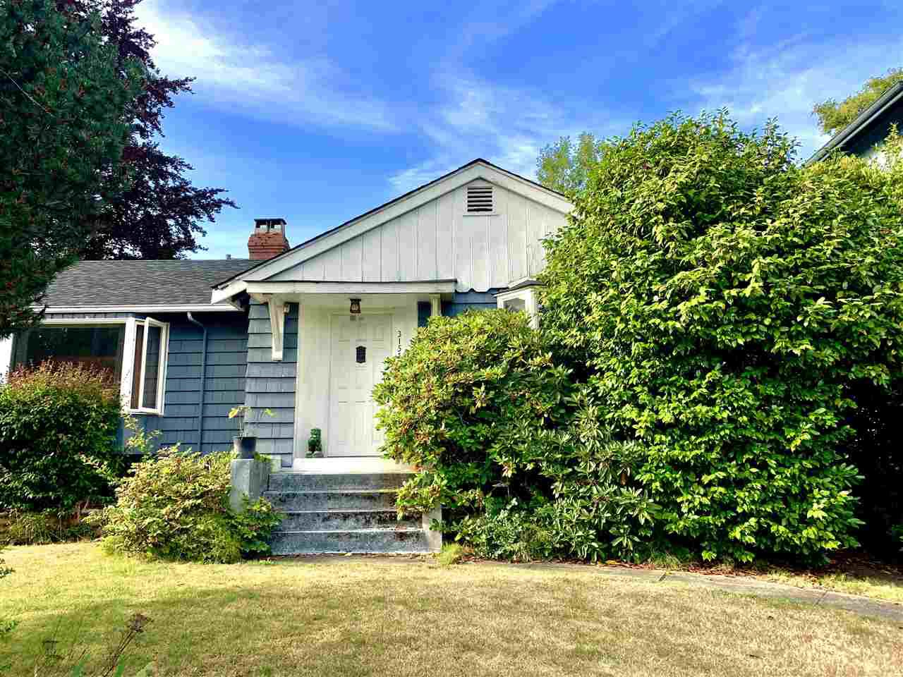 Main Photo: 3151 W 45TH Avenue in Vancouver: Kerrisdale House for sale (Vancouver West)  : MLS®# R2395654