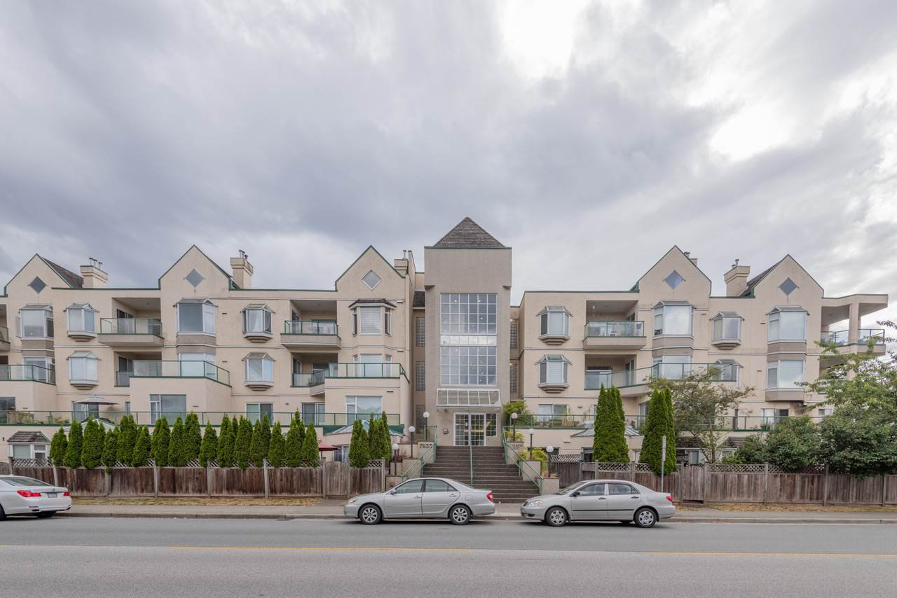 """Main Photo: 210 7633 ST. ALBANS Road in Richmond: Brighouse South Condo for sale in """"ST. ALBANS COURT"""" : MLS®# R2400720"""